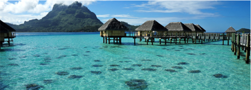 Tahiti - Overwater Bungalows